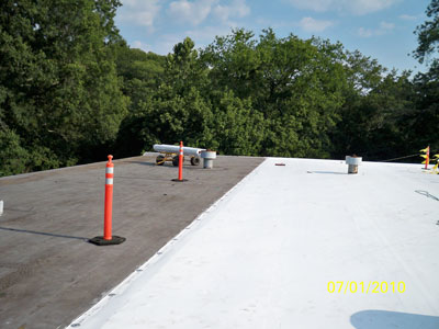 PVC Flat Roofs in Fort Mill, South Carolina